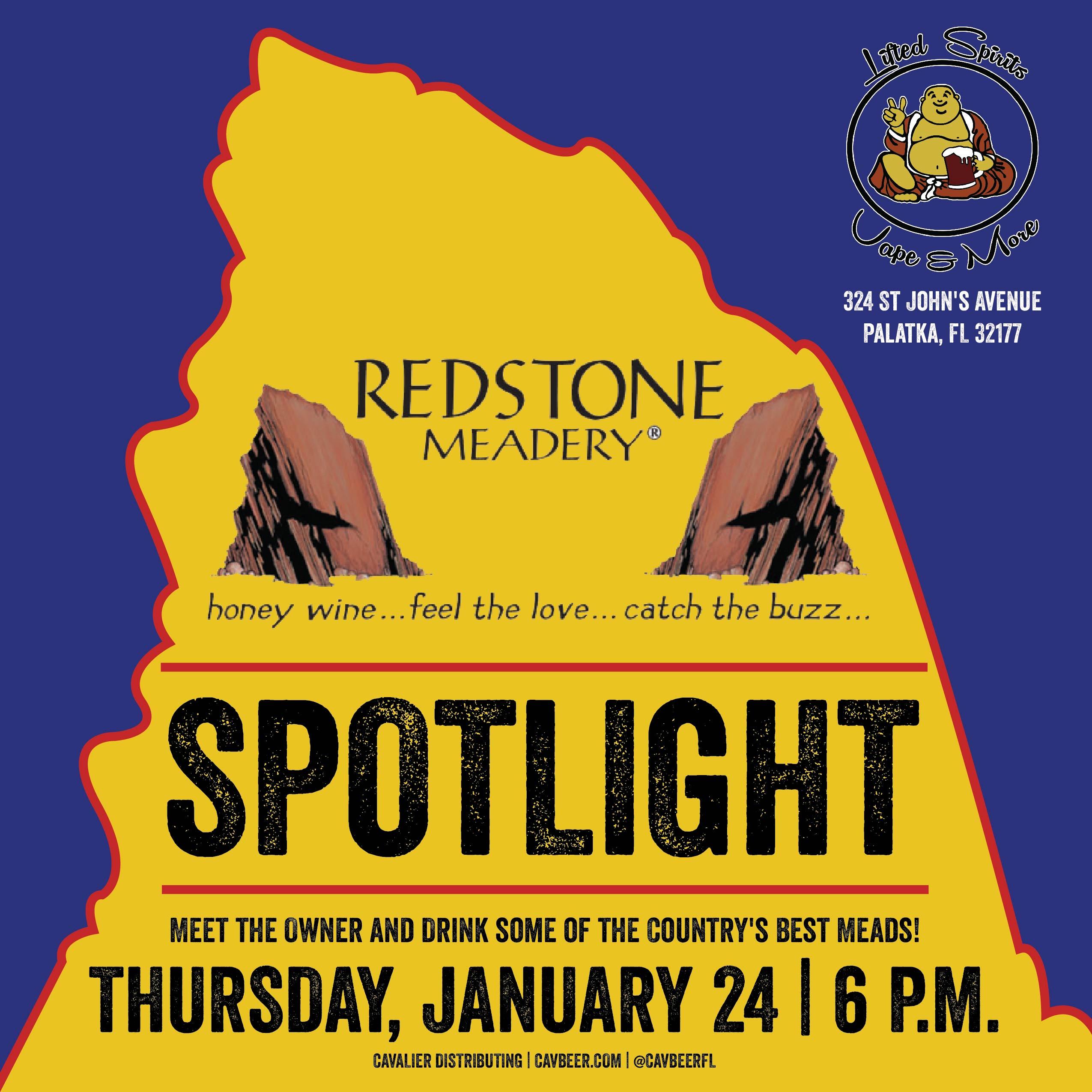 Redstone Meadery Sportlight @ Lifted Spirits Vape & More | Cavalier